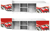 Настенная полка Авто Cars 1780*270*450