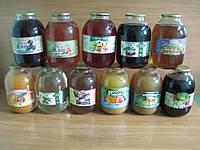 Сок фруктовый в ассортименте и купажеванный (3л)
