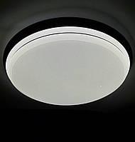 Люстра современная хай-тек с пультом (круглый светильник Smart) 86W 6923 BK ProСВЕТ