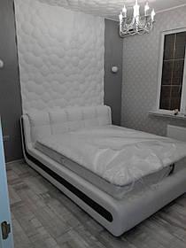 Кровать Дизайнерская Под Заказ Элегия-90 (Мебель-Плюс TM)