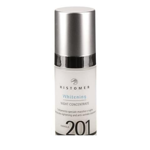Histomer Formula 201 Whitening Night Concentrate - Сыворотка ночная для выравнивания тона кожи 30 мл