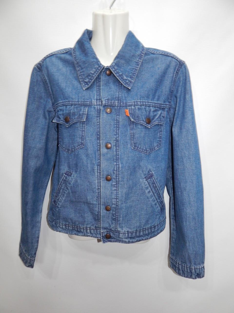 Куртка джинсовая женская LEVI^S Vintage, RUS р.46-48, EUR 38 068DG