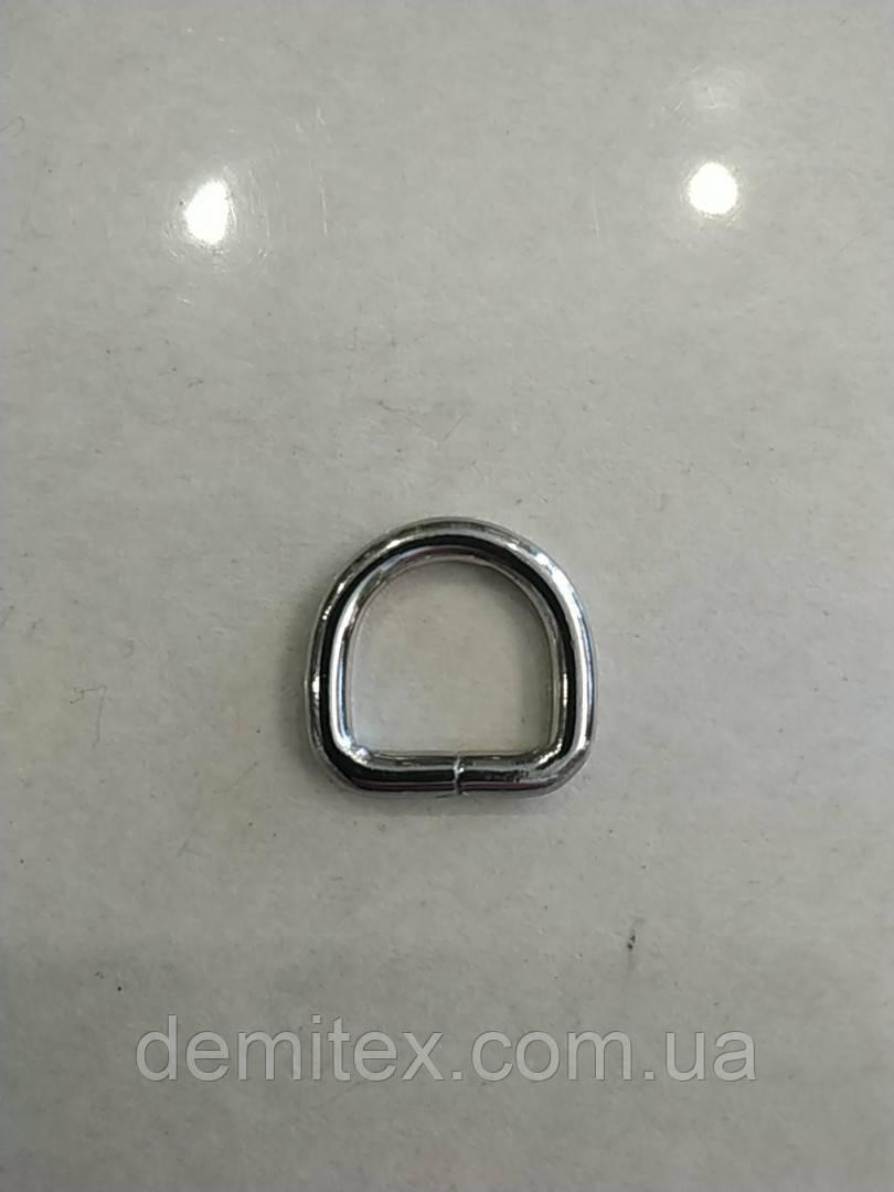 Полукольцо никель премиум класс ширина 15мм высота 15мм толщина 3.8мм размеры внутренние