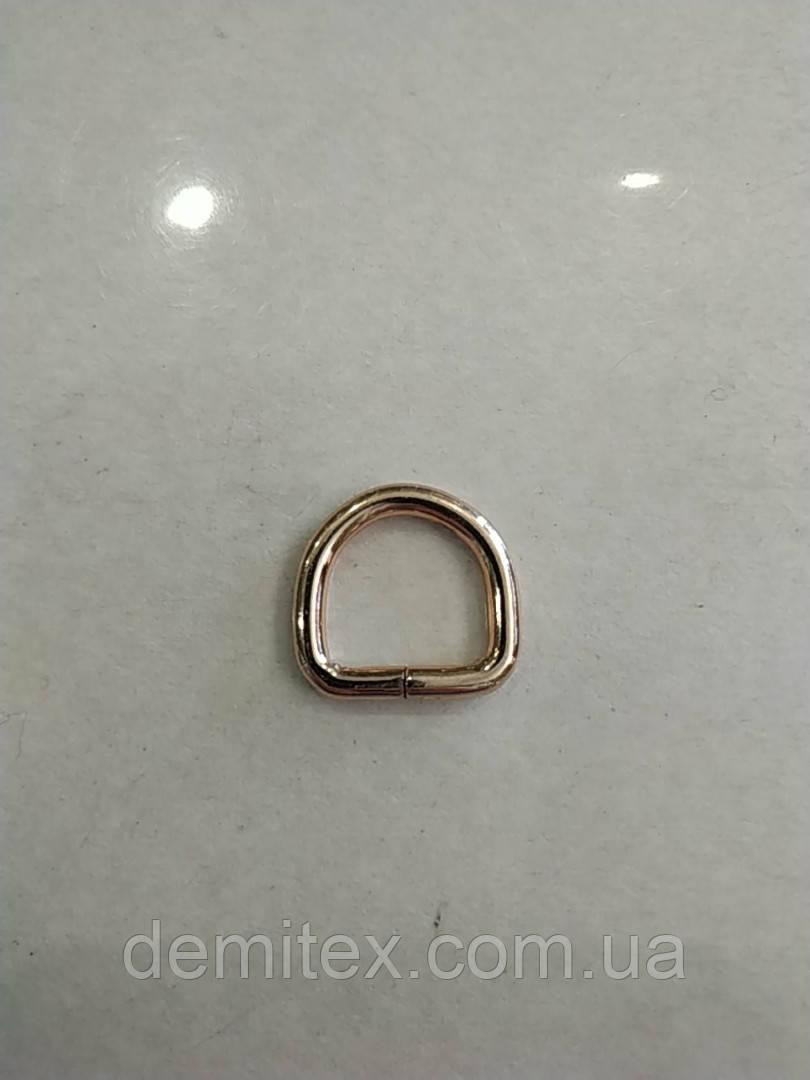 Полукольцо золото премиум класс ширина 15мм высота 15мм толщина 3.8мм размеры внутренние