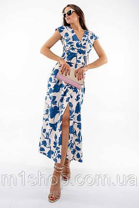 Летнее длинное платье с завышенной талией и с принтом (Пэйтон ri), фото 2