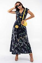 Летнее длинное платье с завышенной талией и с принтом (Пэйтон ri), фото 3