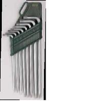 09701 Набор шестигранных ключей удлиненных TORX, 8шт.