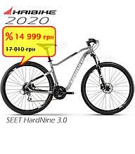Велосипед 29 HAIBIKE SEET HardNine 3.0 рама S серый 2020 SALE s-4100126940