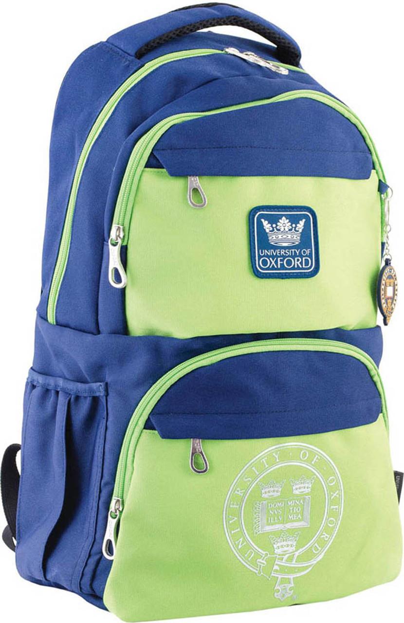 Рюкзак подростковый YES  OX 233, сине-зеленый, 31*46*17