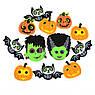 Набор декоративных наклеек Yes! Fun из фетра для Хэллоуина № 4, 12 шт., фото 2