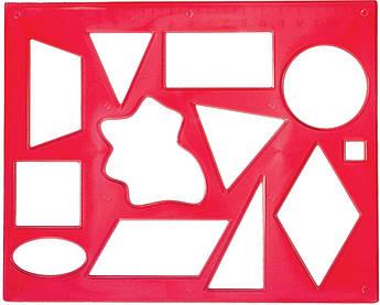 Трафарет геометрических фигур №2 12С837-08