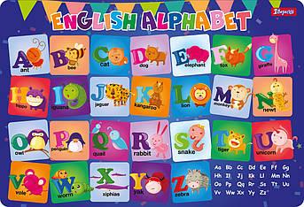 """Подложка для стола 1Вересня детская """"Алфавит (англ)"""""""