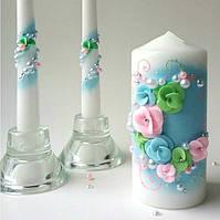 Свадебные свечи Семейный очаг Весенние