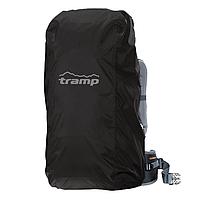 Накидка от дождя на рюкзак Tramp TRP-018 M черная, фото 1