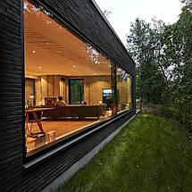 Панорамные алюминиевые окна, фото 3