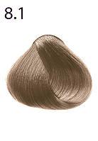 Стойкая крем-краска для волос Максимум цвета серии Expert Color, тон 8.1 Светлый блондин пепельный