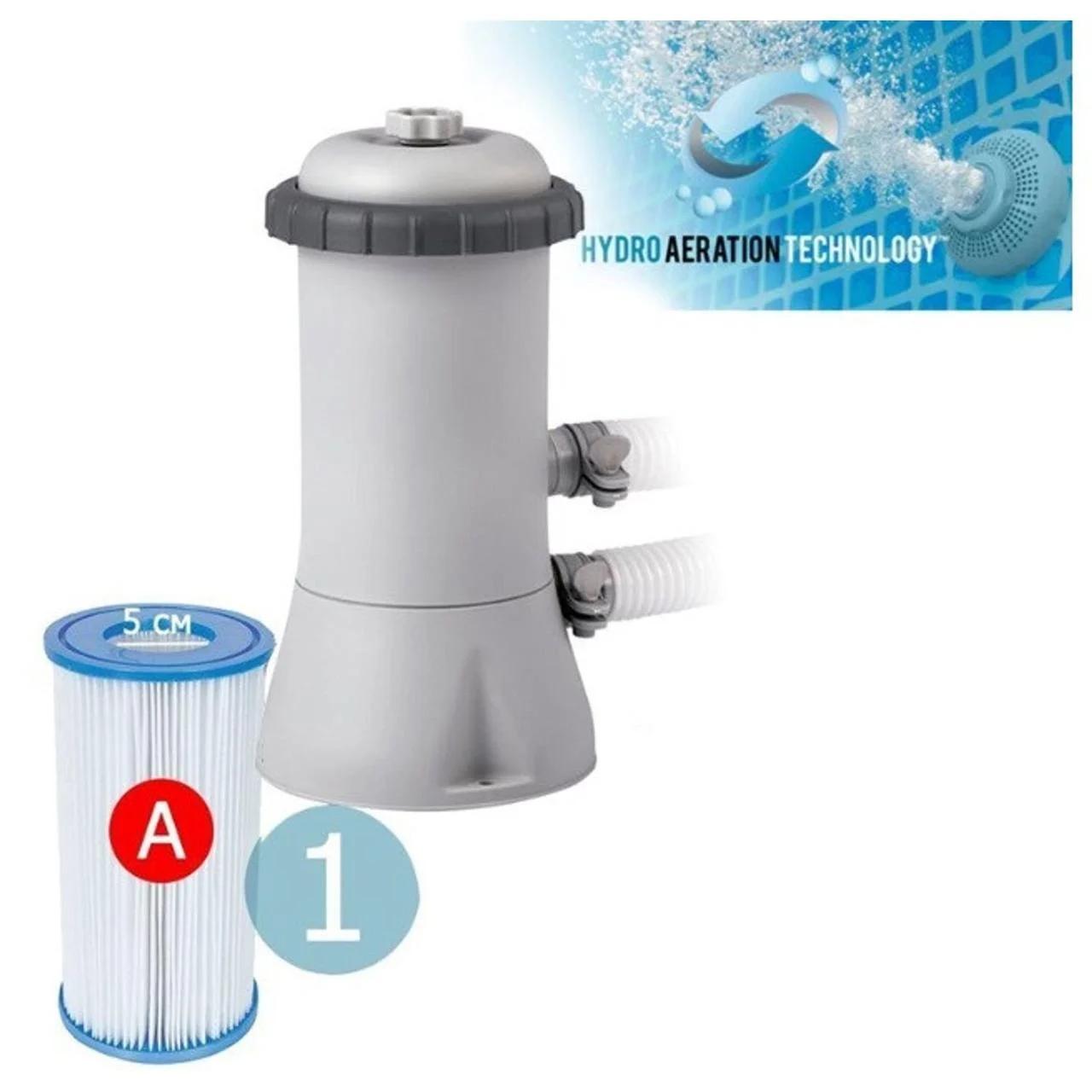 Фильтр-насос для каркасных и наливных бассейнов Intex 28638, 3 8 л/ч