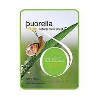 Тканевая маска для лица с экстрактом муцина улитки Puorella Snail