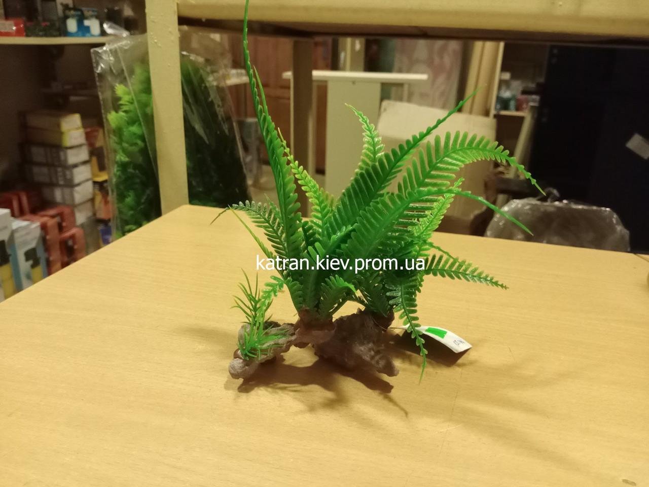 Штучне рослина в акваріум minjiang 4922182 (11*19 см)