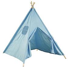 Детская Игровая Палатка 110см Вигвам Домик Шатер Шалаш Тент