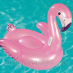 Надувной плот Розовый фламинго, р. 127x127см