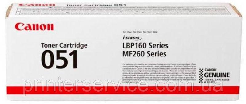 Картридж Canon 051 для LBP162dw MF264dw/ MF267dw/ MF269dw (2168C002)