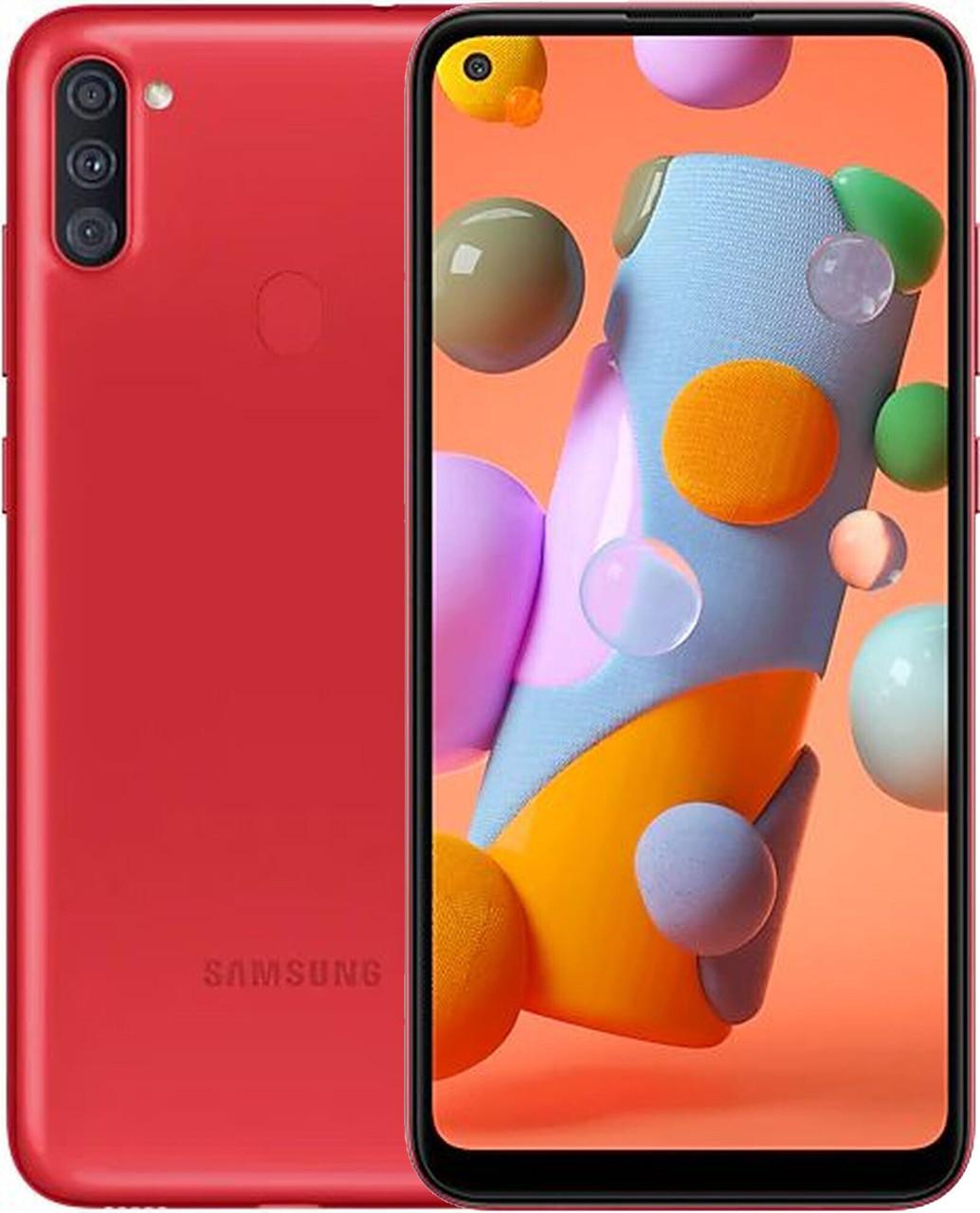 Смартфон Samsung Galaxy A11 Red (SM-A115FZRNSEK)