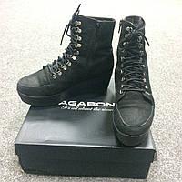Черные ботинки Vagabond