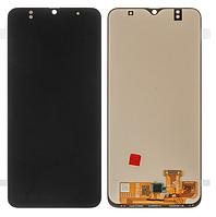 Дисплей модуль для Samsung A305 Galaxy A30 в зборі з тачскріном, чорний, OLED