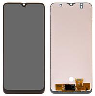 Дисплей для Samsung A305 Galaxy A30 модуль в сборе с тачскрином, черный, (TFT) Сору