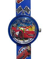 Детские наручные часы Тачки, Маквин, Молния, синие