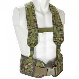 Пояс тактический с плечевыми ремнями Combat СПН Хищник