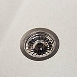 Мойка кухонная Solid Тотал, белый (ДхШхГ-860х510х200), фото 2