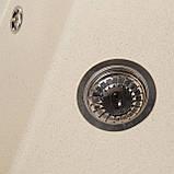 Мойка кухонная Solid Практик, жёлтый (ДхШхГ-780х510х200(147)), фото 3