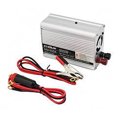 Преобразователь напряжения 500W, авто инвертор 12V-220V