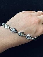 Браслет срібний жіночий