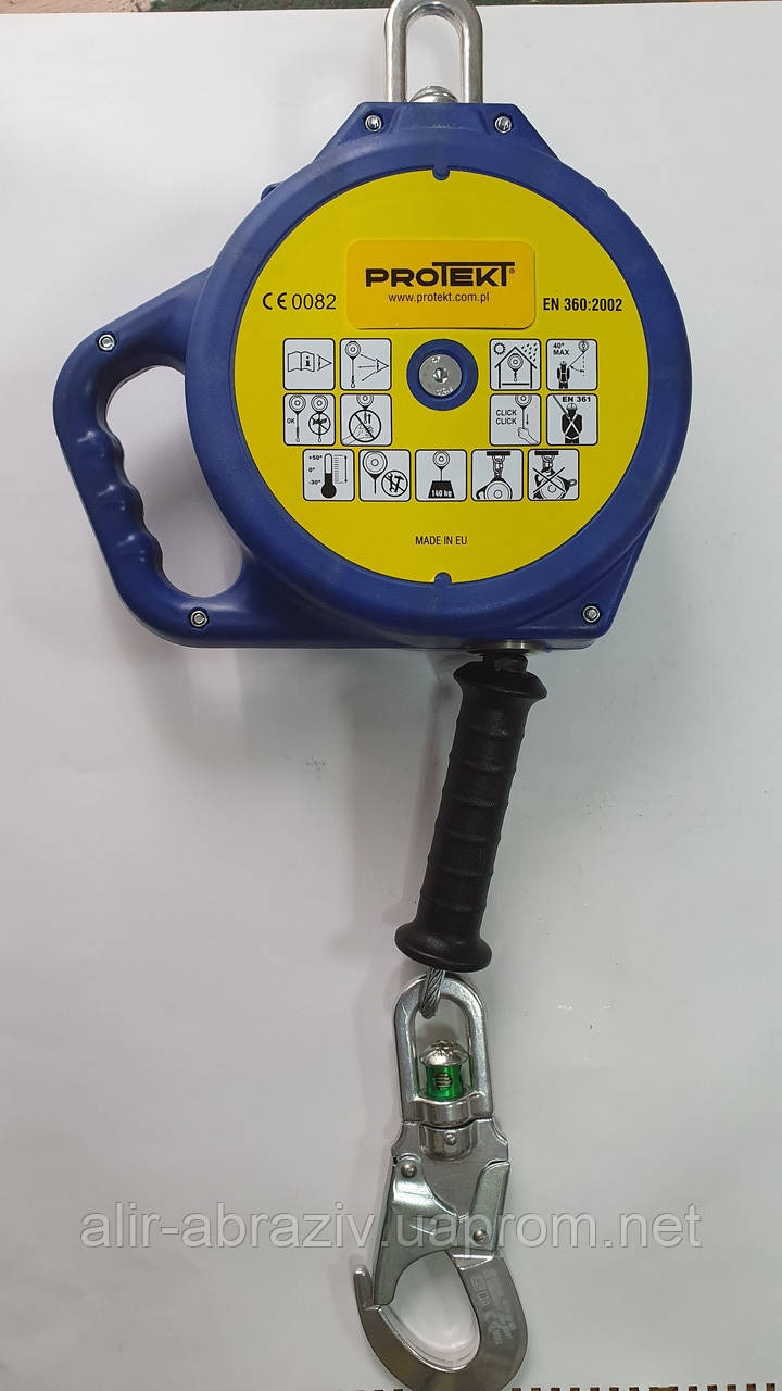 Устройство страховочное Protekt CR 240-10 со стальным тросом 10 м