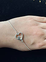 Срібний браслет жіночий