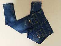 Тёплые джинсы на меху для мальчика до   , 11,  лет, фото 1