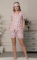 Пижама на пуговицах с шортиками