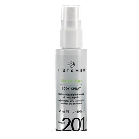 Histomer Formula 201 Green Age Body Spray - Нормализующий спрей для тела 75 мл