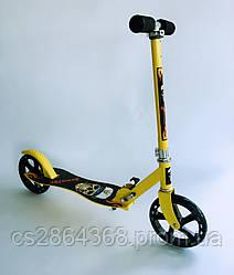 Самокат Scooter 016 желтый