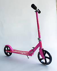 Самокат Scooter 016 розовый