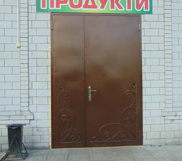 Промислові вхідні двері