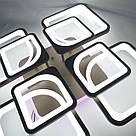 Люстра потолочная 20-MX10005/4+4 224W+12W COF(RGB), фото 2