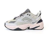 Женские кроссовки Nike M2K Tekno (серые) 12039