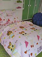 Детский набор постельного белья для девочки Лол