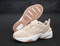 Женские кроссовки Nike M2K Tekno (бежевые) 11975
