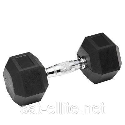 Гантель Spart Обрезиненная 32,5 кг (DB6101 - 32,5 кг)