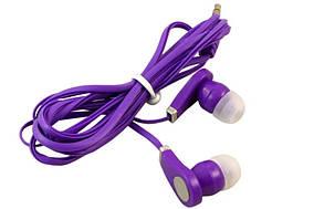 Вакуумные наушники в стиле dr.DRE фиолетовый